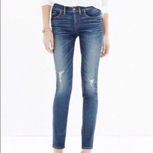 Madewell Skinny Skinny Distressed Jean
